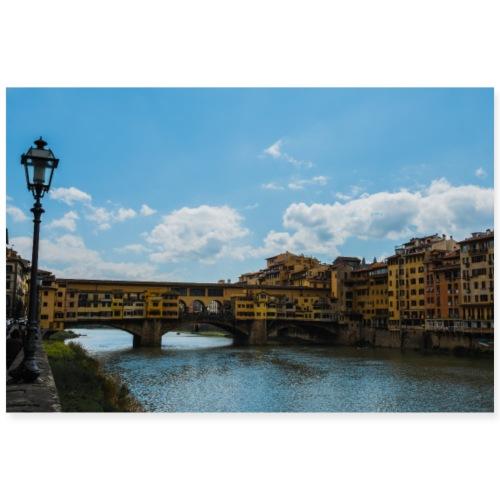 Ponte Vecchio - Poster 90x60 cm