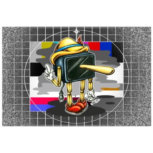 Poster Tell-lie-vision - Poster 90x60 cm
