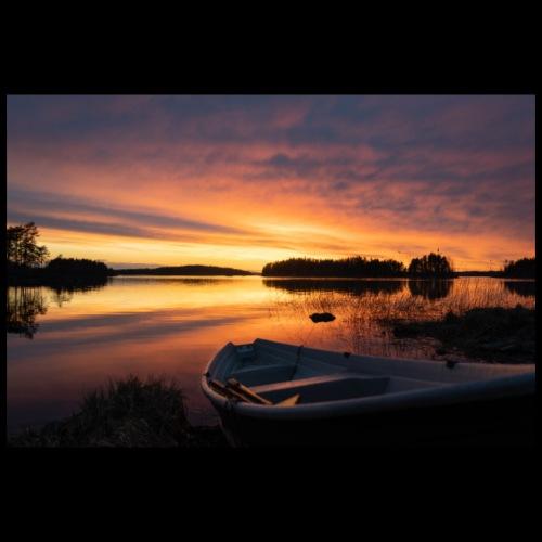 Auringonlasku Saimaalla - Juliste 90x60 cm