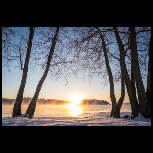 Saimaa talvella - Juliste 90x60 cm