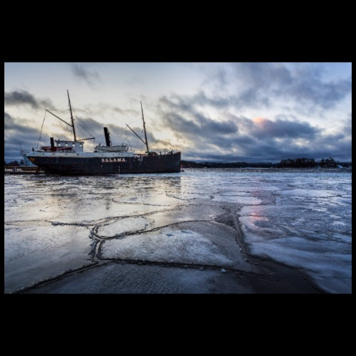 Savonlinnan museolaiva Salama - Juliste 90x60 cm