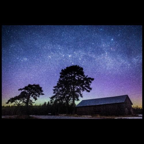 Vanha lato tähtien alla - Juliste 90x60 cm