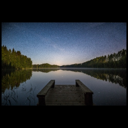 Kesäinen tähtiyö - Juliste 90x60 cm