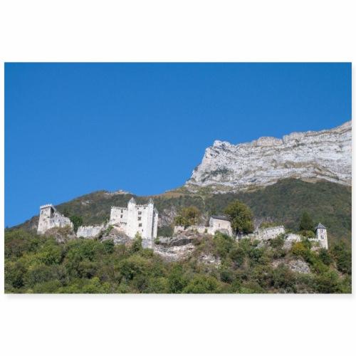Château de Miolans, Savoie - Poster 90 x 60 cm