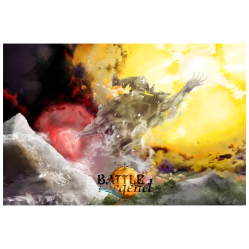 Battle for Legend Poster : Intervention des Dieux - Poster 90 x 60 cm