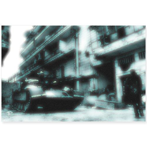 Aleppo5 - Poster 36 x 24 (90x60 cm)