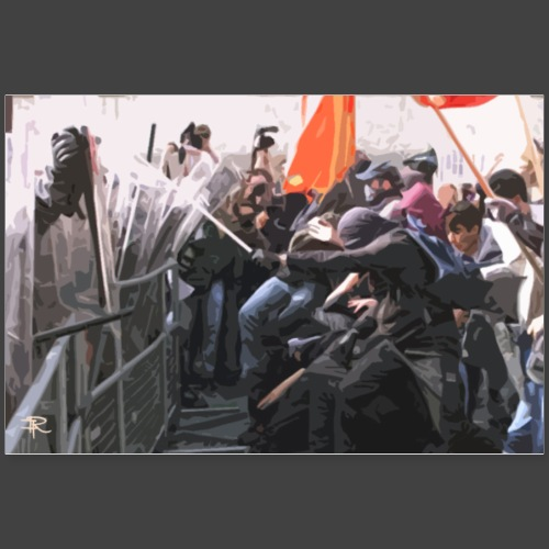 PROTESTS - Poster 36 x 24 (90x60 cm)