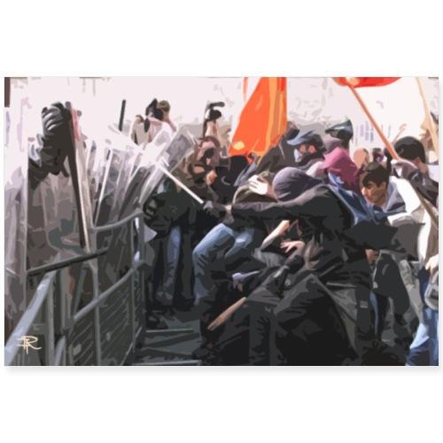 Proteste - Poster 90x60 cm