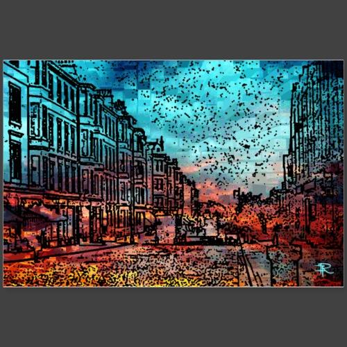 RFCOLLAGE21Aedin - Poster 90x60 cm