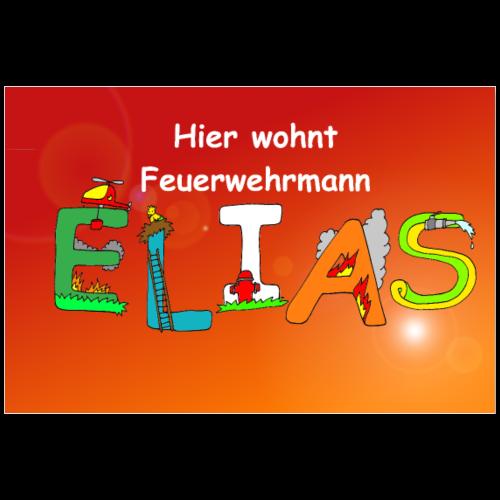 Name Elias : tolles Poster fürs Kinderzimmer - Poster 90x60 cm