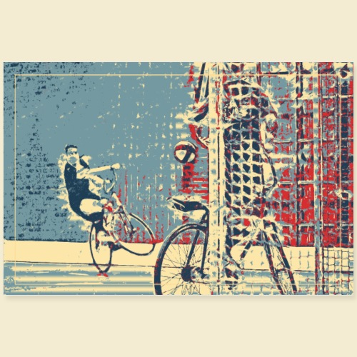 Radball | Cycle Ball 08 - Poster 90x60 cm