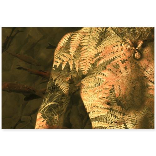 Körper und Natur Kunst Komposition floraler Körper
