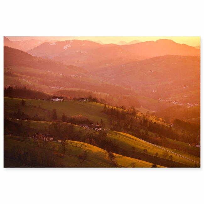 Sonnenuntergang in St. Leonhard