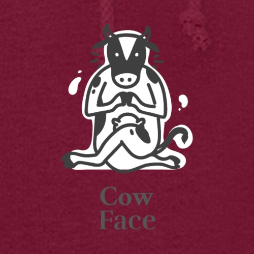 Yoga Cow Face position - Women's Hoodie