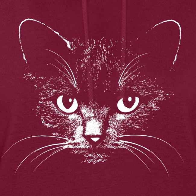 Vorschau: black cat - Frauen Hoodie