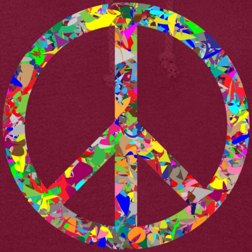 Peace Print Design On A T-shirt Or Other Apparel - Women's Hoodie
