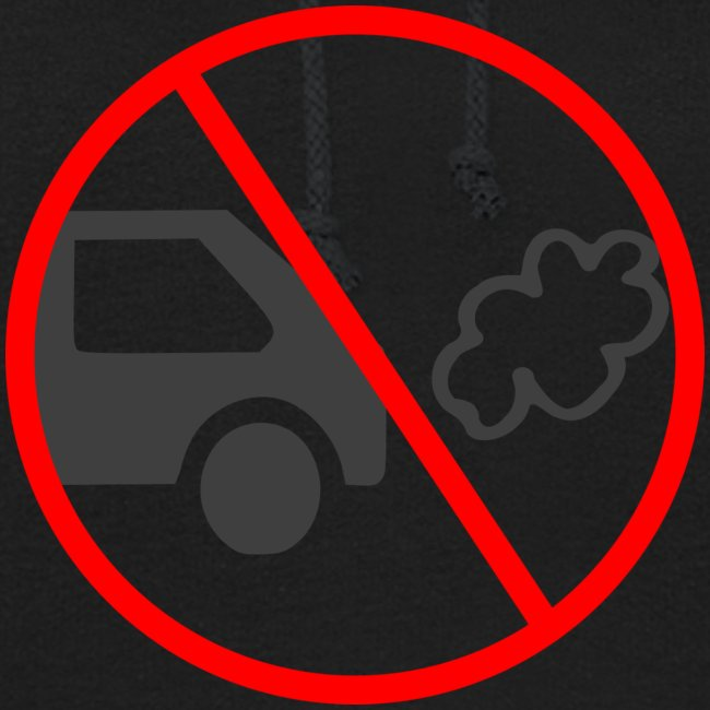 No Car Pollution climate caring print design