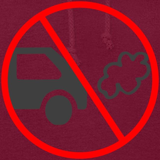 No Car Pollution climate caring print design