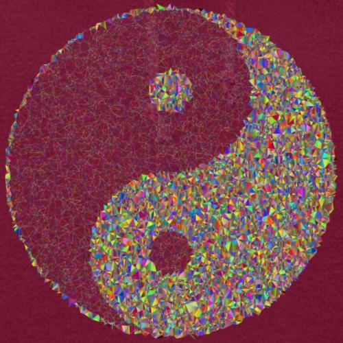 Yin Yang Symbol Print Sign - Women's Hoodie
