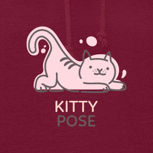 Yoga Kitty Pose - Women's Hoodie
