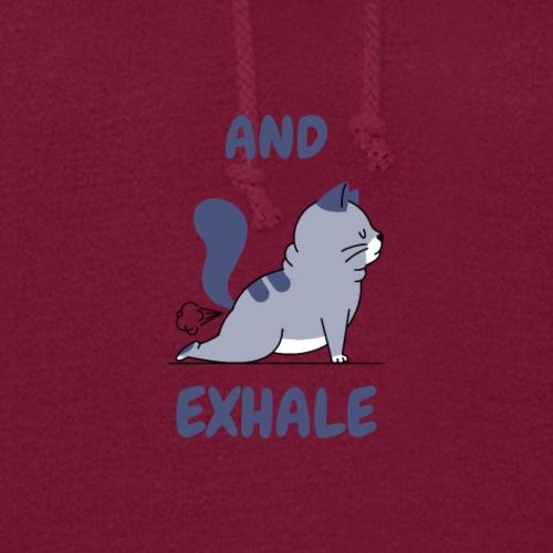 Yoga Exhale Yoga Pose Print Design - Women's Hoodie