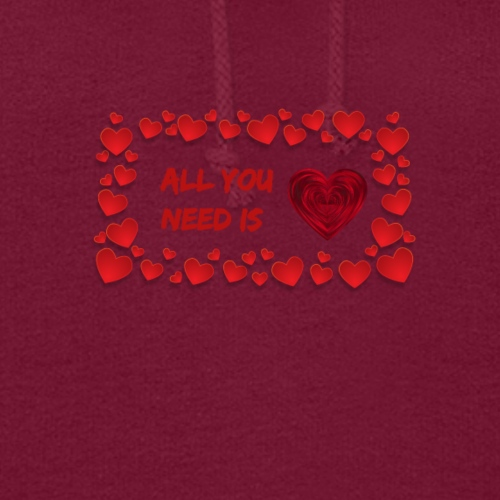 All You Need Is..Custom Design T-shirt Apparel - Women's Hoodie