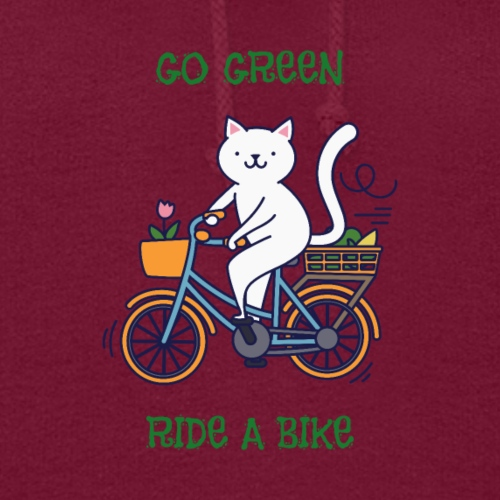 Caring About Climate Change? Go Green Ride A Bike - Women's Hoodie