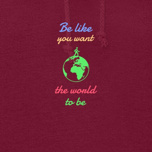 Caring About climate? Save The Planet Print Design - Women's Hoodie