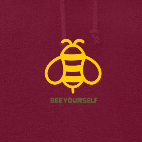 Bee Yourself Print Design. Stand Out Of The Crowd. - Women's Hoodie