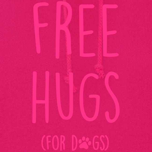 Vorschau: free hugs for dogs - Frauen Hoodie