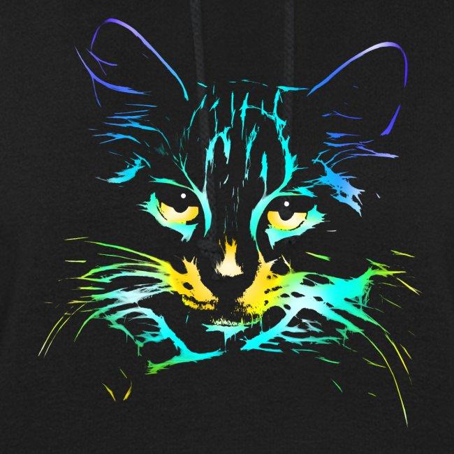 Vorschau: color kitty - Frauen Hoodie
