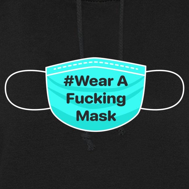 #WearAFuckingMask White Earloops