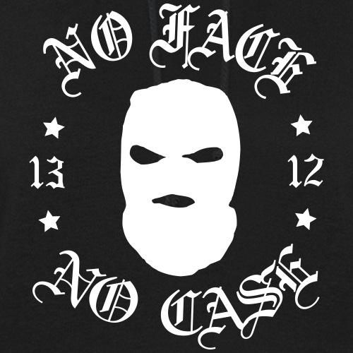 No Face, No Case - Skimask - valkoinen printti - Naisten huppari