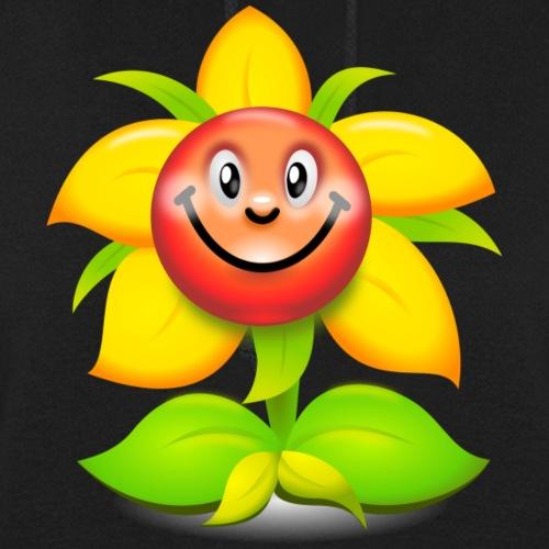 Smiling Face Happy Flower - Women's Hoodie