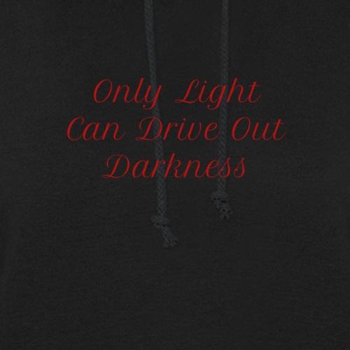 Light and Darkness Print Design Forgiveness - Women's Hoodie