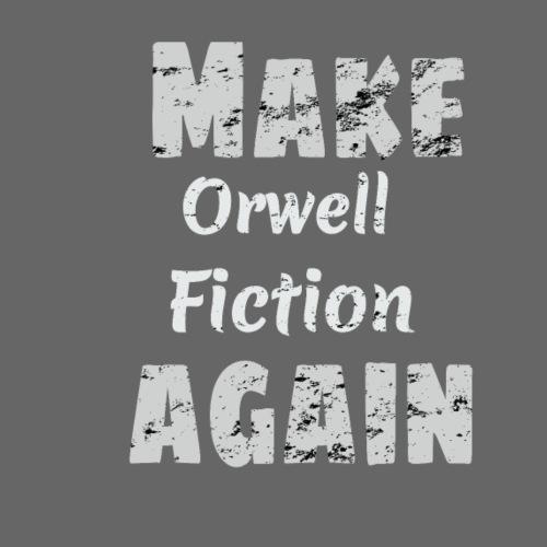 Orwell Fiction Again - Women's Hoodie