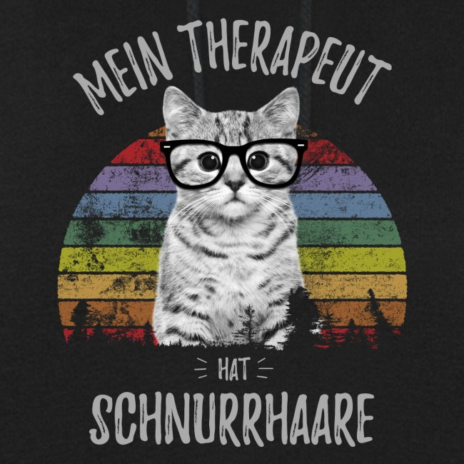 Vorschau: Therapeut Katze - Frauen Hoodie