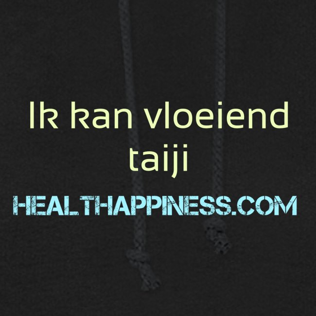 Ik kan vloeiend taiji