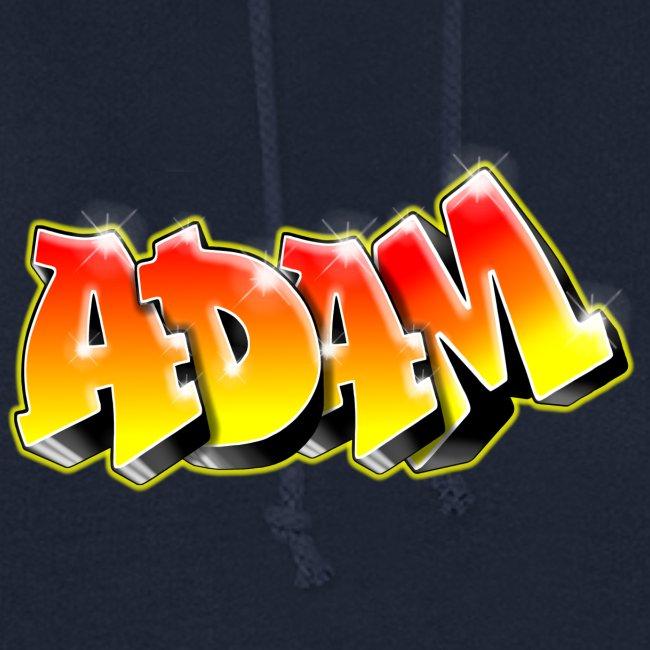 Adam Graffiti Name Printable
