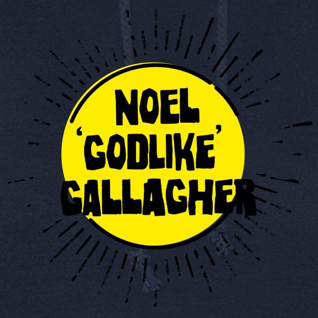 Noel Gallagher 'Godlike' - Black on Yellow