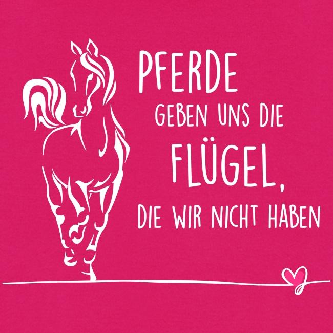 Vorschau: Pferd Flügel - Frauen Hoodie