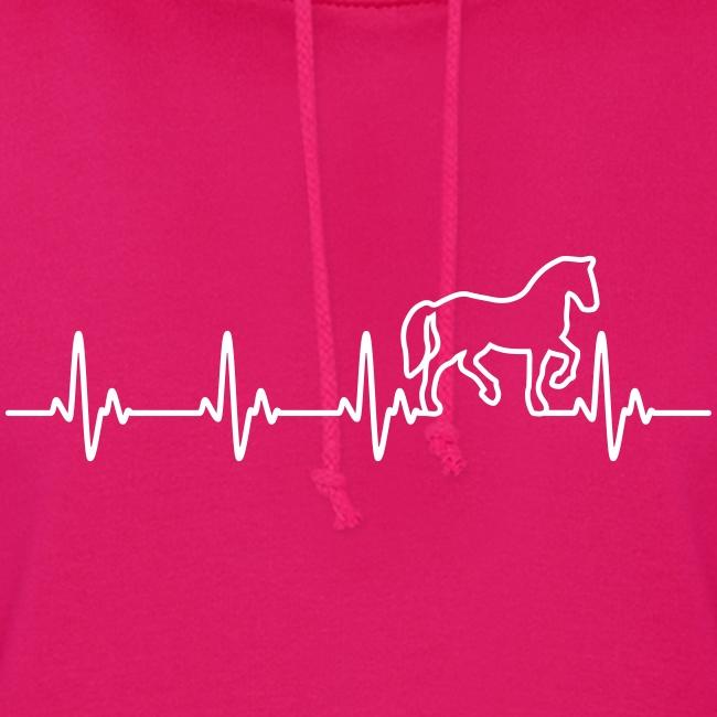 Vorschau: Horse Heartbeat - Frauen Hoodie