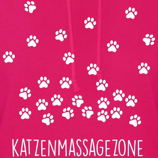 Vorschau: Katzen Massage Zone - Frauen Hoodie