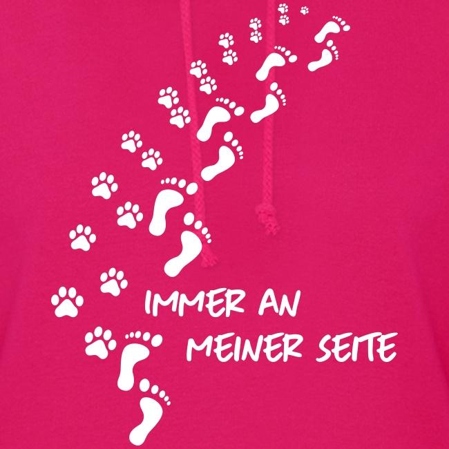 Vorschau: Immer an meiner Seite - Mein Hund und Ich - Frauen Hoodie