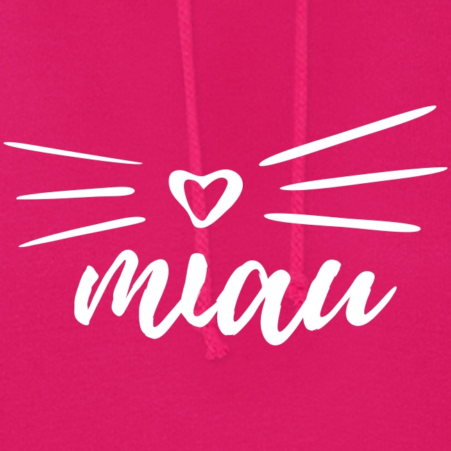 Vorschau: miau - Frauen Hoodie