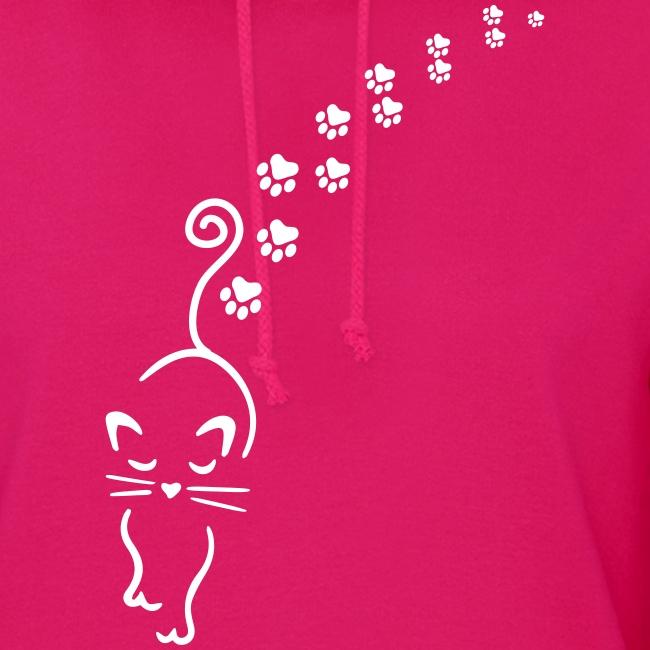 Vorschau: catwalk cat - Frauen Hoodie