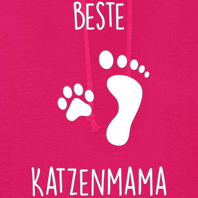 Vorschau: Beste Katzenmama - Frauen Hoodie