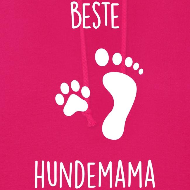 Vorschau: Beste Hundemama - Frauen Hoodie