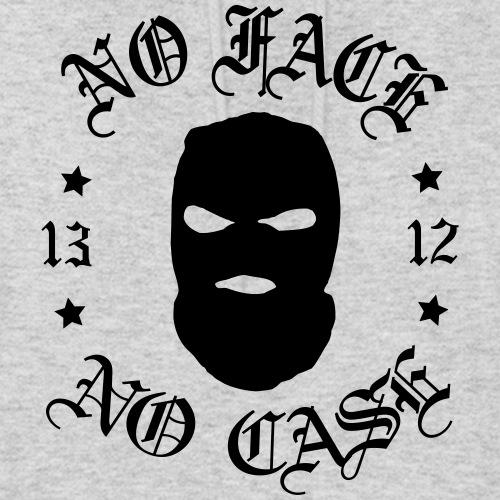 No Face, No Case - Skimask - musta printti - Naisten huppari