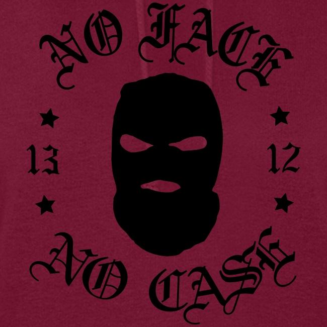 No Face, No Case - Skimask - musta printti
